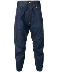 Junya Watanabe - Cropped-Jeans mit Camouflagemuster - Lyst