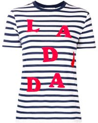 Être Cécile - 'la Di Da' T-shirt - Lyst