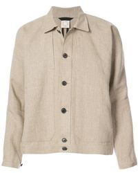 Jan Jan Van Essche - Loose Fit Denim Style Jacket - Lyst