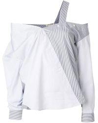 Each x Other - Asymmetric Button Shirt - Lyst