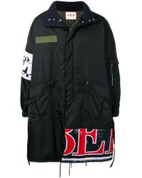 Iceberg - Multi-patches Parka Coat - Lyst
