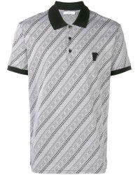 Versace - Poloshirt mit Logo - Lyst