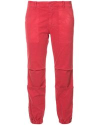 Nili Lotan - Cropped French Military Trousers - Lyst
