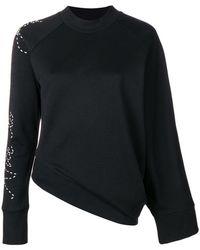 Y-3 - Adidas X Yohji Yamamoto Angled Waist Slogan Sweater - Lyst