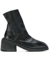 Marsèll - Chunky Heel Ankle Boots - Lyst