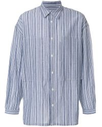 E. Tautz - Striped Lineman Shirt - Lyst