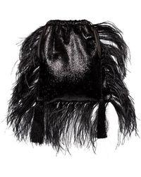 Attico - Tassel Pouch Bag - Lyst