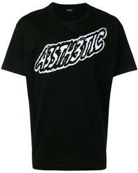 DIESEL - A3sth3tic Patch T-shirt - Lyst