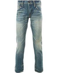 Mastercraft Union - Straight Leg Ankle Length Jeans - Lyst