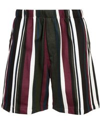 Noon Goons - Casual Striped Shorts - Lyst