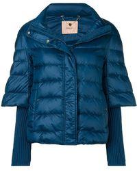 Twin Set - Short Padded Jacket - Lyst