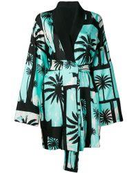Fausto Puglisi - Palm Tree Kimono Coat - Lyst
