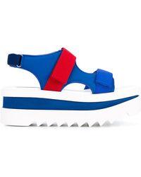 Stella McCartney - Wedge Sandals - Lyst