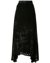 Rachel Comey - Gimlet Burnout Lurex Skirt - Lyst
