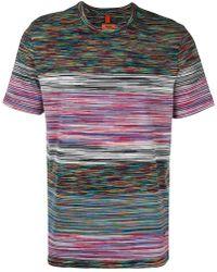 Missoni - Abstract Stripe T-shirt - Lyst