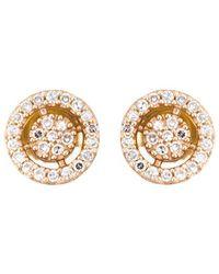 Astley Clarke - Mini 'icon Aura' Diamond Stud Earrings - Lyst