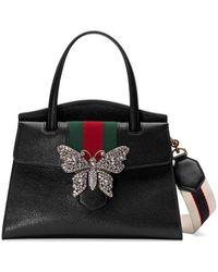 ef369ab6310fd3 Gucci - Totem Medium Top Handle Bag - Lyst
