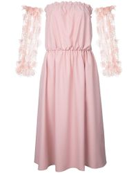 ANOUKI - Removable Sleeves Dress - Lyst