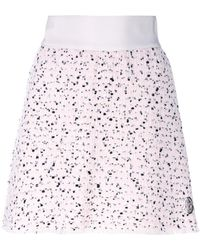 Moncler Gamme Rouge - Textured Mini Skirt - Lyst