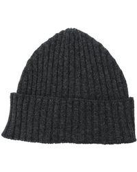 Eleventy - Ribbed Knit Beanie - Lyst