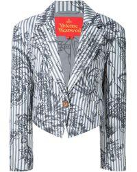 Vivienne Westwood Red Label - 'ticking' Blazer - Lyst