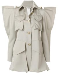 Nina Ricci - Structured Shoulder Shirt Jacket - Lyst