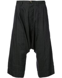 Ziggy Chen - Striped Relaxed Trousers - Lyst