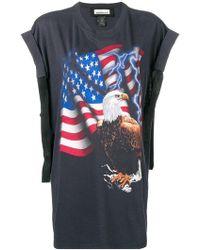 Night Market - Eagle Print T-shirt - Lyst