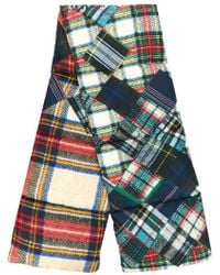 Pierre Louis Mascia - Plaid Padded Scarf - Lyst