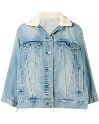 Sacai - Oversized Denim Jacket - Lyst