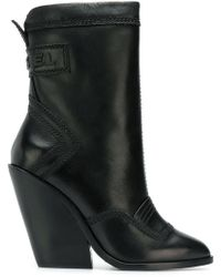 DIESEL - Flamingo Boots - Lyst