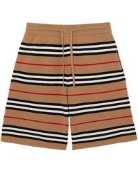 Burberry - Merino-Shorts mit Kordelzug - Lyst