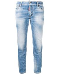DSquared² - Cropped-Jeans - Lyst