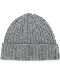 7190397dbc2 N.Peal Cashmere - Chunky Ribbed Knit Beanie Hat - Lyst
