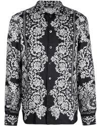 Dolce & Gabbana Pyjamaoberteil mit Print