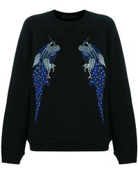 Proenza Schouler - Peacock Embroidered Sweatshirt - Lyst