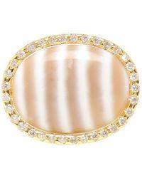 Kimberly Mcdonald - Chalcedony And Diamond Ring - Lyst