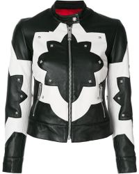 John Richmond | Two-tone Stud Jacket | Lyst