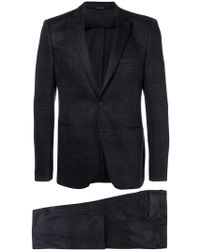 Tonello - Checked Two-piece Suit - Lyst