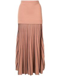 Dion Lee | Pleated Maxi Skirt | Lyst