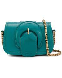 Elisabetta Franchi - Maxi Buckle Mini Bag - Lyst