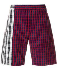 Gosha Rubchinskiy - Checked Bermuda Shorts - Lyst
