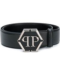 Philipp Plein - Logo Plaque Belt - Lyst
