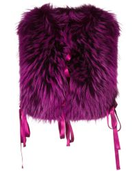 DSquared² - Front Fastened Outerwear Accessory - Lyst