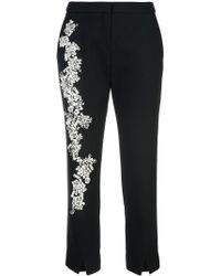 Dice Kayek - Embellished Cigarette Pants - Lyst
