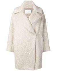 Fabiana Filippi - Oversized Single Breasted Coat - Lyst