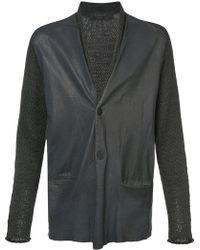 Transit - Contrast Sleeve Jacket - Lyst