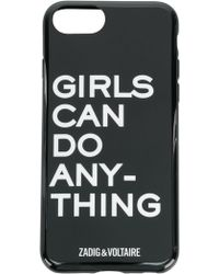 Zadig & Voltaire - Girls Can Do Anything Iphone 6 Case - Lyst