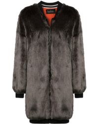Nicole Miller - Zipped-up Coat - Lyst