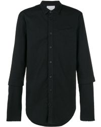 Lost and Found Rooms - Double Sleeve Shirt - Lyst